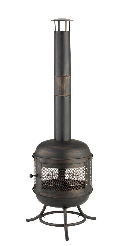 grill kaminfeuerstelle terrassenofen feuerofen mit. Black Bedroom Furniture Sets. Home Design Ideas