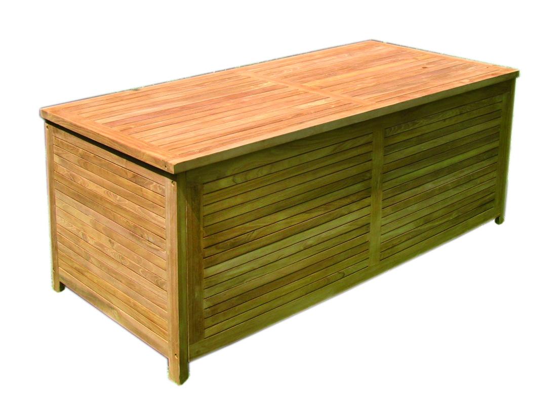 large teak teak wood storage box cushion box garden chest. Black Bedroom Furniture Sets. Home Design Ideas