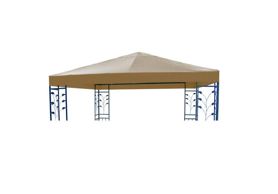 ersatzdach f r gartenpavillon pavillon 3 x 3 m ersatz dach wasserdicht beige ebay. Black Bedroom Furniture Sets. Home Design Ideas