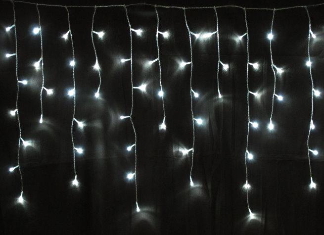160 er led eiszapfen lichterkette eiszapfenkette innen au en weiss lk007 i ebay. Black Bedroom Furniture Sets. Home Design Ideas